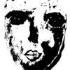 Schwarz, Weiß, Maske, Malerei