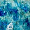 Fantasie, Blau, Grün, Malerei