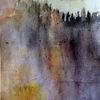 Berge, Wipfel, Landschaft, Malerei