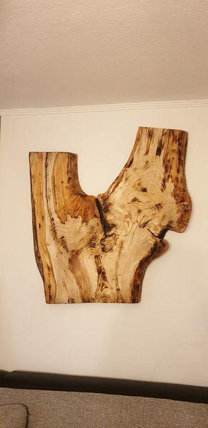 Holz, Wandobjekt, Leben, Kunsthandwerk