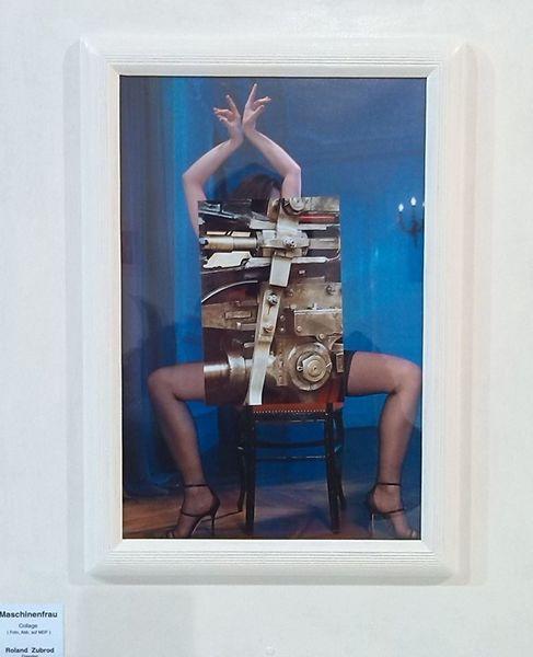 Collage, Wandobjekt, Mischtechnik