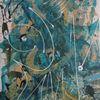 Modern, Abstrakt, Farben, Malerei