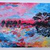 Acrylmalerei, Malerei, Meer, Farben