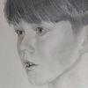 Bleistiftzeichnung, Portrait, Enkel, Zeichnungen