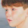 Aquarellmalerei, Portrait, Junge, Aquarell