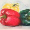 Grün, Paprika, Rot, Gelb