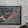 Xxl bild, Blumen, Acrylmalerei, Unterwasserhäusel