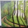 Wald, Wohnzimmer, Modern art, Zeitgenössisch