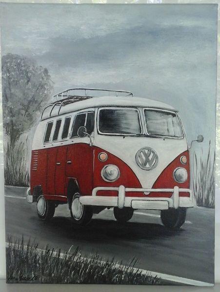 Fahrzeug, Bilder für wohnzimmer, Schwarz, Esszimmer, Bilder in rot, Bilder mit bäumen