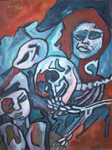 Tanz, Malerei, Ekstase, Tod
