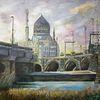 Dresden, Aquarellmalerei, Yenice, Aquarell