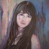 Ölmalerei, Malerei, Frau, Portrait