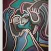 Denker, Acrylmalerei, Pop, Malerei