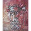 Blumen, Malerei, Vase