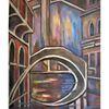 Venedig, Nacht, Brücke, Malerei