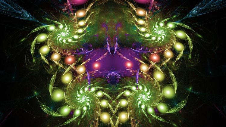 Universum, Abstrakt, Indien, Digitale kunst