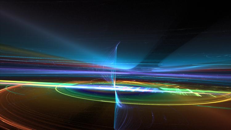 Himmel, Horizont, Universum, Abstrakt, Digitale kunst, Perspektive