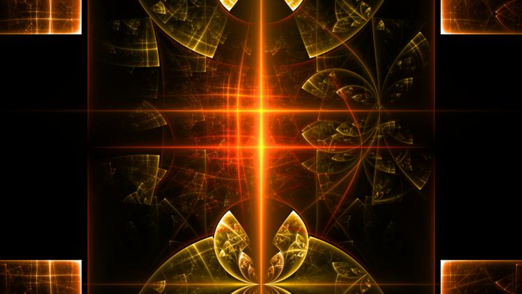 Abstrakt, Universum, Feuer, Digitale kunst, Spiegel