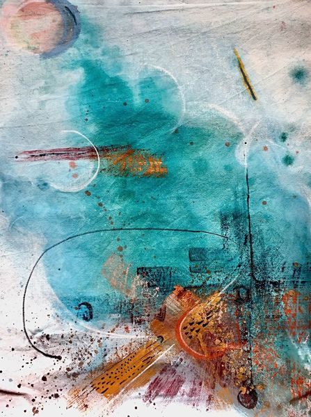 Abstrakt, Farben, Malerei