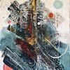 Modern art, Malerei, Abstrakt, Acrylmalerei