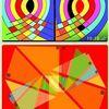 Eule, Tryptichon, Muster, Ähnlichkeit