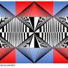 Mathematik, Konkrete kunst, Wurzelkreise, Digitale kunst