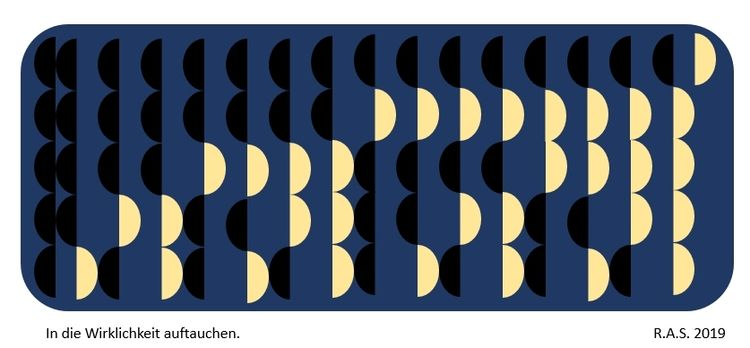 Dualzahlen, Evolution, Repetition, Digitale kunst