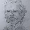 Bleistiftzeichnung, Brad pitt, Zeichnungen,