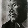 King martin luther, Bleistiftzeichnung, Kohlezeichnung, Zeichnungen