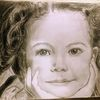Hoffnung, Mädchen, Bleistiftzeichnung, Zeichnungen