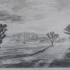 Bleistiftzeichnung, Der tag erwacht, Morgen, Zeichnungen