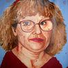 Brille, Märchen, Blaue augen, Malerei