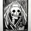 Tod, Tag der toten, Druckgrafik, Santa