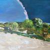 Süden, Meer, Landschaft, Malerei