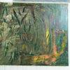 Wald, Acrylmalerei, Natur, Wasser