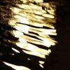 Reflexion, Licht, Wasser, Nacht
