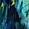 Wasser, Winter, Eis, Malerei