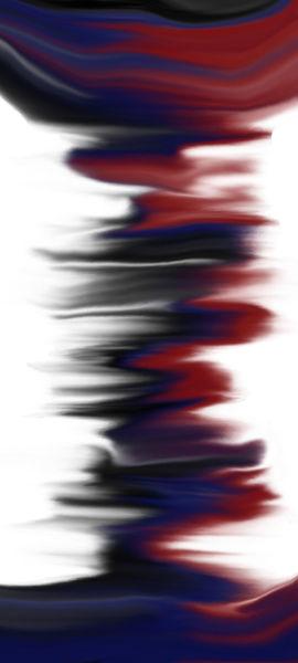 Blau, Schwarz, Rot, Digitale kunst