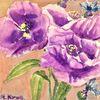 Martha krug, Aquarellmalerei, Blumen, Aquarell