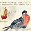 Aquarellmalerei, Leipziger zoo, Skizze, Martha krug