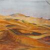 Gouachemalerei, Oman, Wüste, Aquarell