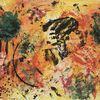 Abstrakt, Bunt, Schwarzweiß, Gemälde