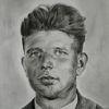 Großvater, Portrait, Zeichnungen, Zeichnung