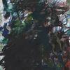 Modern, Malerei abstrakt, Farben, Weiß