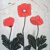 Blumen, Abstrakte malerei, Natur, Malerei