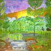 Baum, Fantasie, Pflanzen, Abstrakte malerei