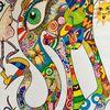Elefant, Farben, Humor, Freude