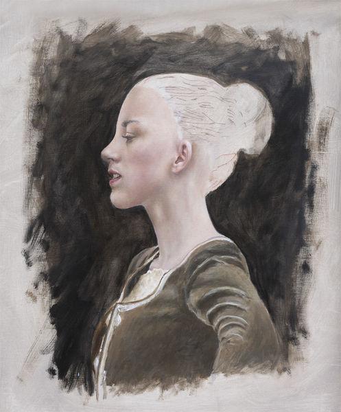 Portrait, Fotorealismus, Menschen, Ölmalerei, Malerei