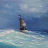 Meer, Segelboot, Blau, Wasser