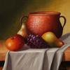 Früchte, Weintrauben, Tropfen, Obst